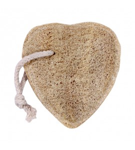 Natural Loofah Heart